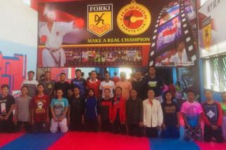 Forki Sulteng seleksi karateka untuk tim Kejurnas 2018
