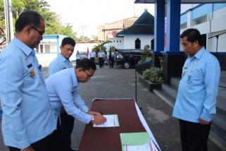 Deklarasi Janji Kinerja 2018 Kemenkumham berkumandang di Sulteng