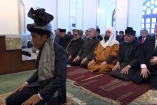 Jokowi jadi Imam shalat di masjid Afghanistan
