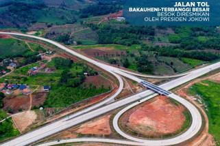 Presiden akan resmikan tol Sumatera