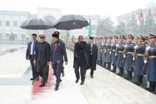 Jokowi tolak pakai rompi anti-peluru di afghanistan