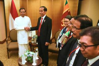 Presiden terima kunjungan pemimpin oposisi Sri Langka