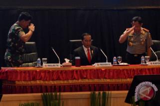 Presiden minta Panglima-Kapolri tangani wabah Papua