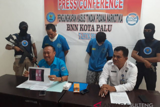 BNNK Kota Palu gagalkan pengiriman sabu ke Tolitoli