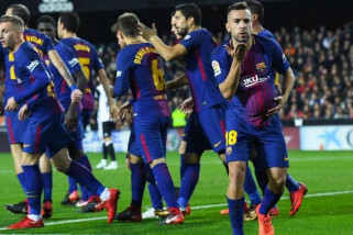 Barcelona menang 2-0 atas Eibar
