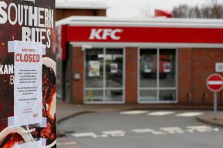 KFC tutup sebagian besar di Inggris karena kekurangan ayam