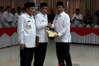 Gubernur kukuhkan pjs Bupati Parimo dan Donggala