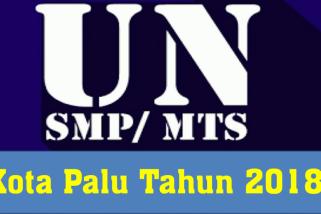 Peserta UN SMP/MTS Kota Palu 7.214 siswa