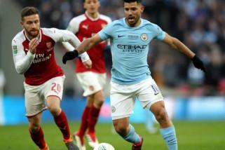 City kembali taklukan Arsenal dengan skor 3-0