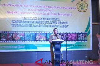 Gubernur harap musrembang jawab tantangan pertanian