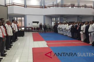 Kejurnas karate dipimpin wasit nasional kualifikasi AKF