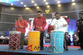 Mendagri buka Kejurnas Karate XX di Palu