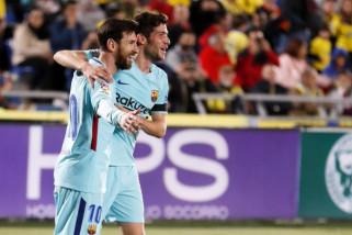 Barca ditahan imbang 1-1 oleh Las Palmas