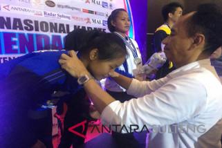 Sulteng rebut tiga medali Kejurnas XX karate Piala Mendagri