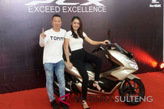 All New Honda PCX ditarget laku 100 unit perbulan di Sulteng (Vidio)