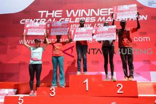 Pemenang Central Celebes Marathon Putri