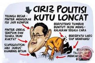 Pengamat: politikus loncat pagar berorientasi kekuasaan