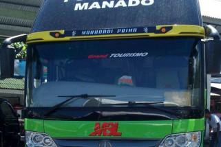 Sejumlah penumpang bus MSL di Poso kecurian barang berharga  di dalam bus