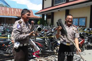 Polisi tindak 264 pengendara sepeda motor nakal