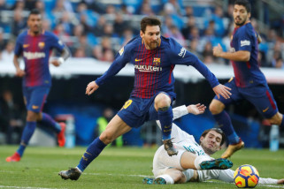 Barcelona menahan imbang Real Madrid 2-2