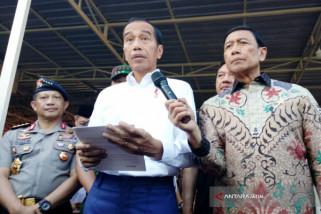 Presiden ajak masyarakat Indonesia bersatu lawan terorisme