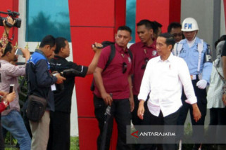 Presiden Jokowi pantau ledakan bom GPPS