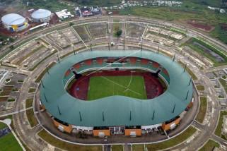 Peserta Anniversary puji stadion Pakansari