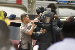 Polisi tangkap seorang terduga teroris Mapolda Riau