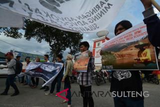 Aksi Hari Anti Tambang