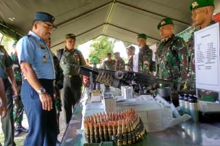 Asops Panglima TNI lepas 500 satgas Pamrahwan