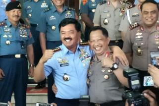 Panglima TNI dan Kapolri hadiri Haul Guru Tua