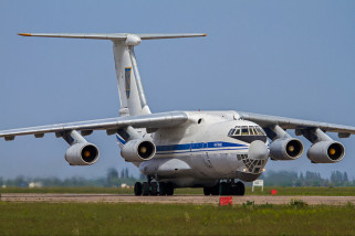 Pesawat Kargo Kim bertolak ke Singapura