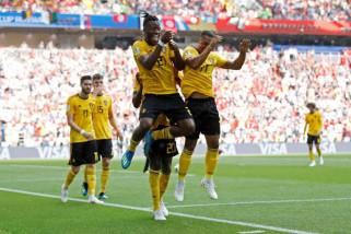 Piala Dunia 2018 - Belgia libas Tunisia dengan skor 5-2