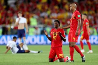Piala Dunia 2018 - Belgia menang 1-0 atas Inggris