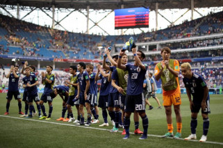 Piala Dunia 2018 - Jepang ke 16 besar meski dikalahkan Polandia 0-1
