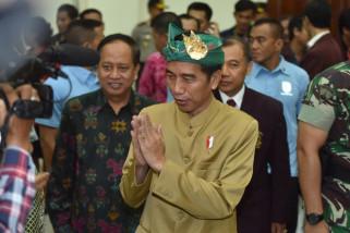 Presiden Jokowi di Bali sosialisasikan PPh-buka PKB