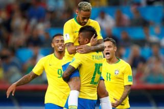 Penalti Neymar bawa Brazil taklukkan Uruguay