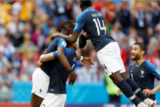 Piala Dunia 2018 - Prancis taklukan Autralia 2-1