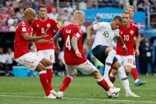 Piala Dunia 2018 - Prancis-Denmark lolos ke 16 besar dengan hasil imbang
