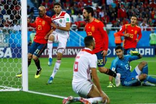 Piala Dunia 2018 - VAR selamatkan Spanyol dari penyisihan group