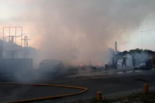 Dua rumah di Palu dilalap api