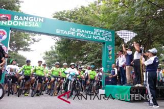 Sepeda Nusantara 2018 meriah, bantu promosikan wisata Kota Palu