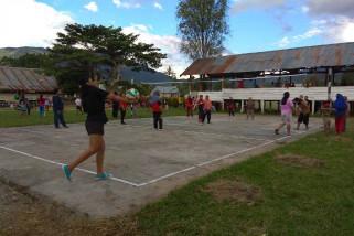 TMMD Poso eratkan persaudaraan lewat olahraga
