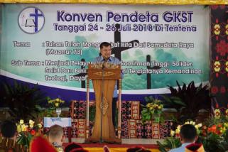 Sinode GKST apresiasi kehadiran Wapres pada Konven Pendeta (vidio)