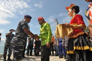 Walikota sambut kedatangan KAL Pulau Pasoso
