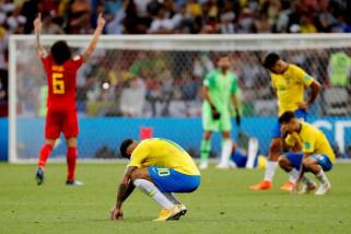 Piala Dunia 2018 - Belgia  singkirkan Brazil dari Piala Dunia
