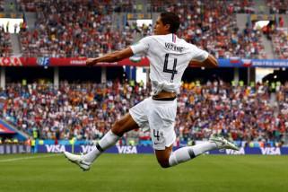 Piala Dunia 2018 - Prancis melangkah ke semi final setelah kalahkan Uruguay 2-0