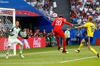 Piala Dunia 2018 - Inggris tundukkan Swedia untuk semifinal Piala Dunia