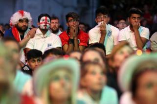 Piala Dunia 2018 - Sebagian penonton Kroasia lawan Inggris cemooh Vida