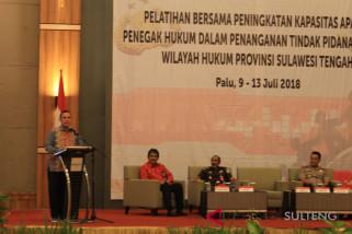 Deputi KPK tutup pelatihan penegak hukum di Sulteng